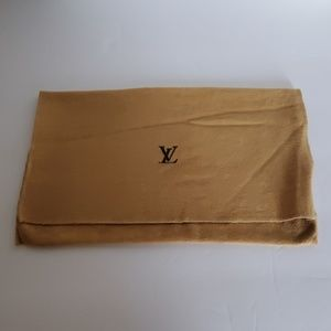 Authentic Louis Vuitton dust bag for small bag